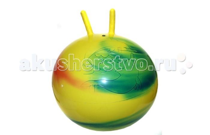 Stantoma Мяч радужный с рогами диаметр 55 см