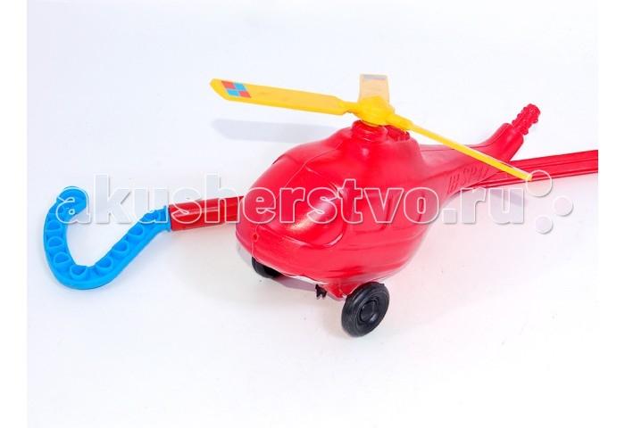 Каталки-игрушки Wieslaw Suchanek Вертолетик вертолетик 29 см