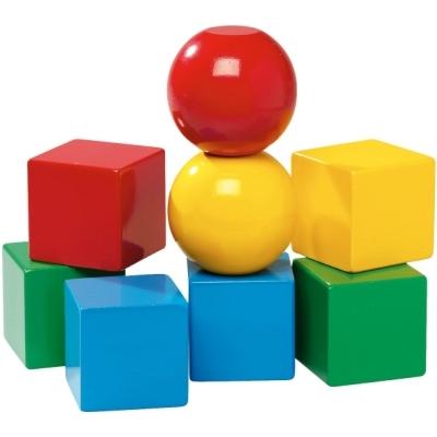 Деревянная игрушка Brio Кубики на магнитахКубики на магнитахДеревянные кубики Brio на магнитах разноцветные.<br>