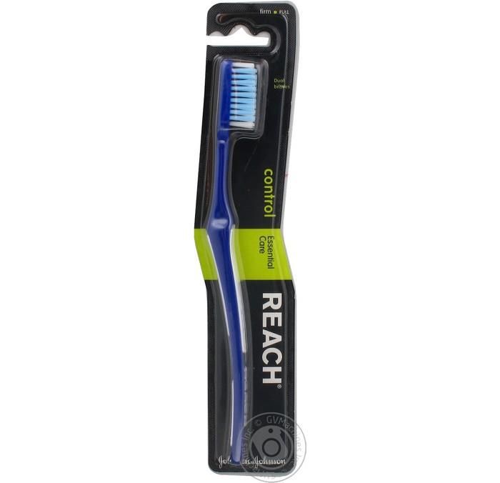 Гигиена полости рта Reach Control зубная щетка жесткая гигиена полости рта мир детства зубная щетка