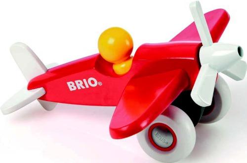 Деревянная игрушка Brio Самолетик с пропеллером