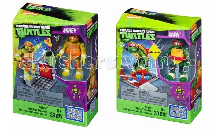 Mega Bloks Mattel Черепашки-Ниндзя: Малые игровые наборы mega bloks mattel черепашки малыши маленький игровой набор