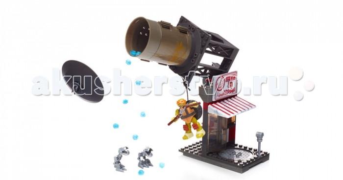 Mega Bloks Mattel Черепашки-Ниндзя: Схватка в пиццерии (129 деталей) mega bloks mattel черепашки малыши маленький игровой набор