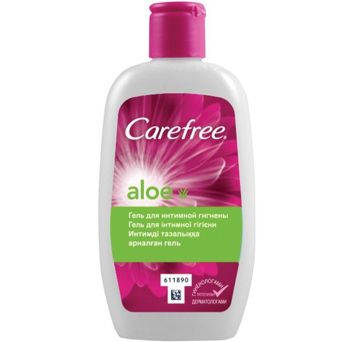 Косметика для мамы Carefree Гель для интимной гигиены с Алоэ 200 мл косметика для мамы palmolive жидкое мыло для интимной гигиены intimo с экстрактом ромашки 300 мл