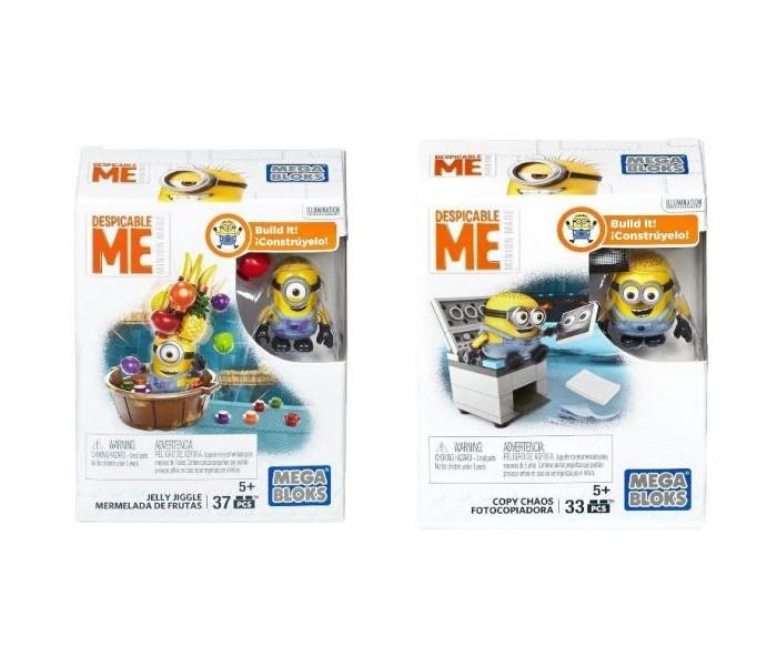 Конструкторы Mega Bloks Mattel Миньоны: Мини-набор