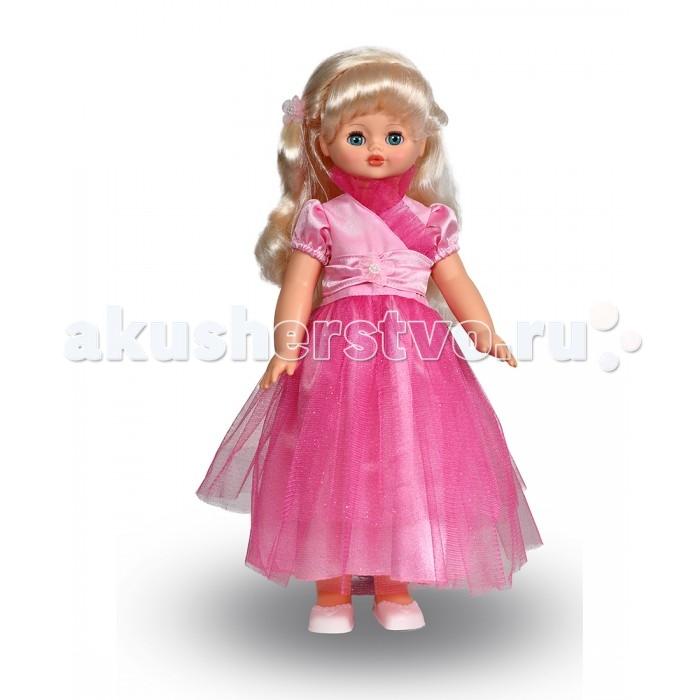 Весна Кукла Алиса 17 со звуковым устройством 55 смКукла Алиса 17 со звуковым устройством 55 смВесна Кукла Алиса 17 озвученная 55 см в шикарном бальном платье - это мечта любой маленькой девочки.   Особенности: Кукла Алиса составляет более полуметра в высоту, а ее красивому наряду позавидует любая куколка.  Глазки Алисы можно открывать и закрывать, поставив игрушку в то или иное положение.  Мягкие волосы из нейлона можно расчесывать, а также придумывать необычные прически для торжественных вечеров, на которых Алиса будет выглядеть неотразимо.  Кукла умеет ходить, если ее взять за ручку и повести, то она будет перебирать ножками.  Кукла произносит следующие фразы: Привет! Давай потанцуем. Я люблю музыку. Возьми меня за ручки. Покружись со мной. Как здорово! А сейчас спой мне песенку. А другую песенку… Мне очень нравится!  Цветовое исполнение волос, глаз и одежды куклы варьируется и может отличаться от представленного на фото.<br>