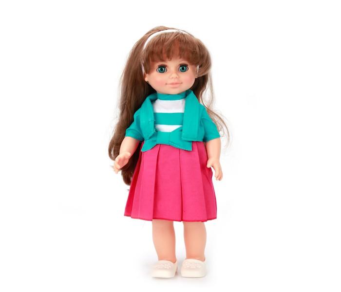 Весна Кукла Анна 4 со звуковым устройством 42 смКукла Анна 4 со звуковым устройством 42 смКукла Анна 4 со звуковым устройством 42 см отличает новый, непохожий на других образ. Это очаровательная кукла - девочка с открытым взглядом, пушистыми ресницами, обаятельной улыбкой и роскошными волосами. Кукла представлена в комплекте одежды летней коллекции. Платье отрезное по линии талии, с элегантным болеро. Юбка платья в крупную складку с большим бантом. Волосы украшает ободок. На ножках модные туфли-балетки. Производитель оставляет за собой право изменения цветовой гаммы одежды и волос куклы, цвет глаз может варьироваться.   Игровые возможности куклы: прекрасные длинные волосы, похожие на натуральные, можно завивать, расчёсывать и укладывать в разные причёски, меняя образ куклы. При нажатии на звуковое устройство она произносит фразы, побуждающие к действию. Она умеет закрывать глазки, её можно укладывать спать. Продуманная конструкция позволяет легко сажать, ставить на ножки, переодевать. Дополнительно к кукле можно приобрести комплект одежды.   Технические характеристики: кукла полностью выполнена из современного материала винила. Длина волос – 24 см. Глаза вставные закрывающиеся. Высота 42 см. Кукла озвучена, говорит следующие фразы:   «Теперь ты моя подруга. Ты не забыла - сегодня мы идем на праздник? Нам нужно быть красивыми. Сделай мне прическу! Получилось очень красиво! Теперь себе. Не забудь про маникюр! А нарядное платье? Мы сегодня самые красивые!».   Кукла соответствует Техническому регламенту Таможенного Союза о безопасности детской игрушки.<br>