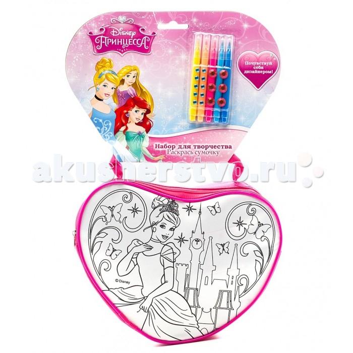 Заготовки под роспись Multiart Набор для росписи сумочки Принцессы Disney сумочки