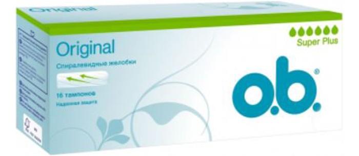 Гигиена для мамы o.b. Тампоны Original Супер плюс 16 шт. цены онлайн
