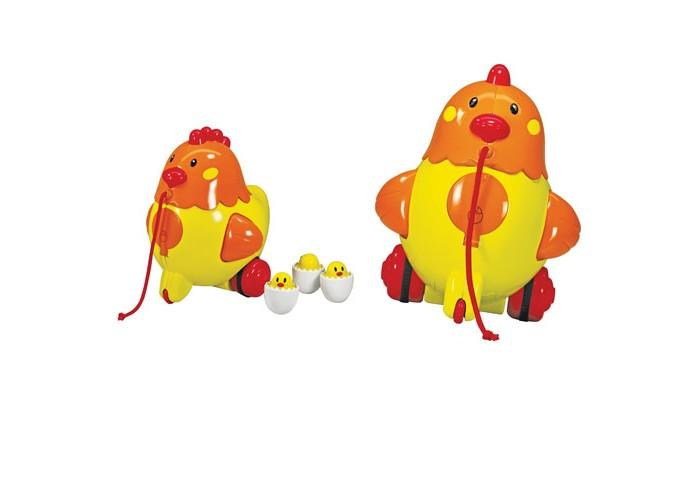 Каталки-игрушки Bebelino Курочка блюдо яркая курочка