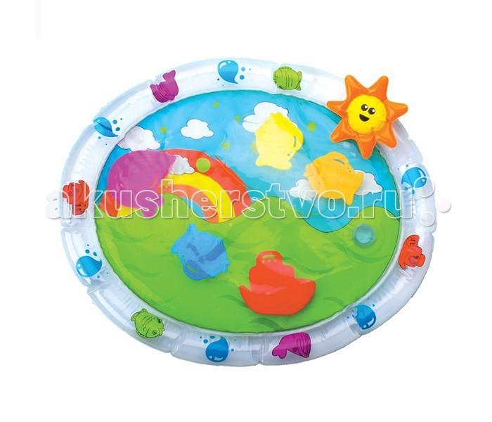 Игрушки для ванны Bebelino Игровой надувной коврик для ванной коврик круглый для ванной dasch авангард