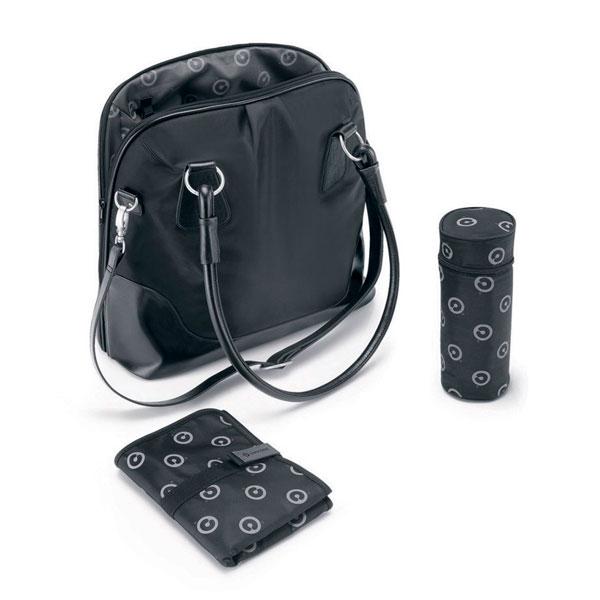 Concord Сумка MamabagСумка MamabagConcord Mamabag эксклюзивная и практичная сумка для мамы. Легко крепится к коляске, можно носить как с помощью ремня, так и при помощи ручек.  Особенности: - Элегантный вид, подходит к любой одежде. - Высокое качество материалов - Имеет карман для мобильного телефона, смартфона, дополнительное большое отделение на молнии - В комплекте бутылка и коврик для пеленания  Размеры и вес: 42 х 19 х 32 см Вес: 0,9 кг<br>