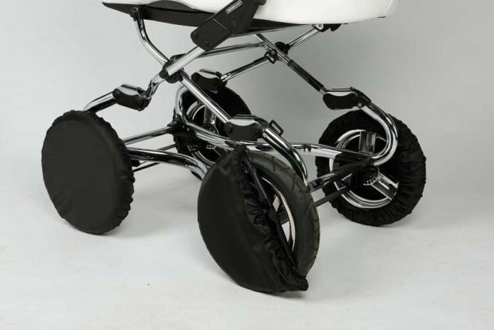 Аксессуары для колясок Ruivo Чехлы на колеса 12 декоративные колпаки на штампованные колеса 16