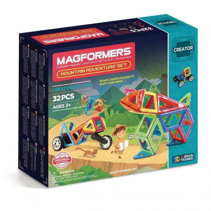 Купить Конструкторы, Конструктор Magformers Магнитный Adventure Mountain 32 set