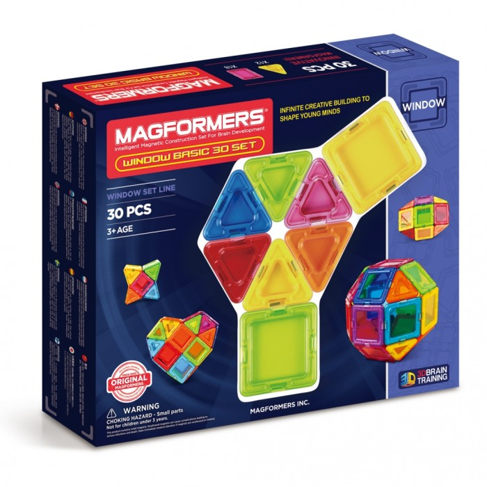 Конструкторы Magformers Магнитный Window Basic 30 set magformers window basic 14 set 714001
