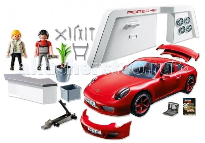 Конструктор Playmobil Лицензионные автомобили: Porsche 911 Carrera SЛицензионные автомобили: Porsche 911 Carrera SPlaymobil Лицензионные автомобили: Porsche 911 Carrera S   Световой модуль (3Х1,5-V-в микро-батареи требуются) можно включить передние и задние фары, а также приборную панель. На Порше можно тюнинговать передний бампер, задний спойлер и красные колесные диски. Крыша съемная.  Комплект: детали конструктора, игровые фигурки. Тип батареек: на батарейках. Из чего сделана игрушка (состав): пластик. Размер упаковки: 34.8 x 24.8 x 9.5 см. Упаковка: картонная коробка<br>