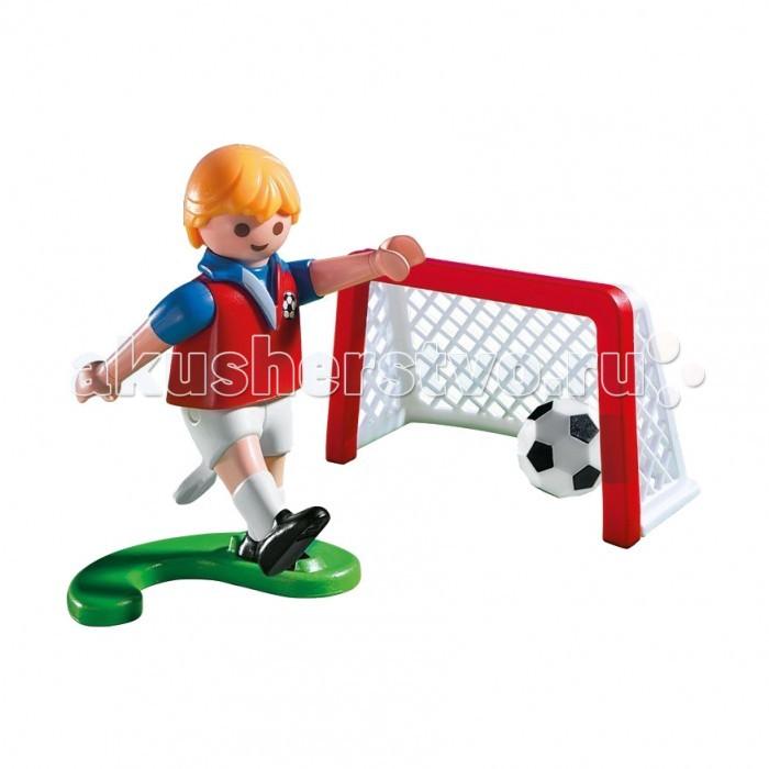 Конструкторы Playmobil Яйцо: Футболист с воротами и мячом playmobil® яйцо пират в поисках сокровищ playmobil