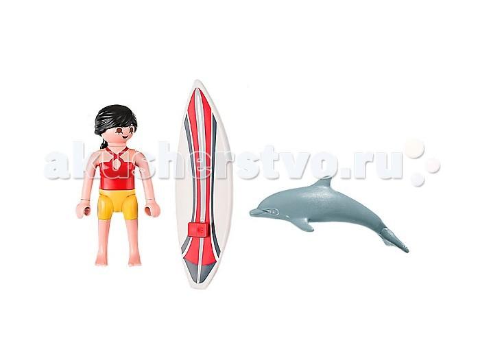 Конструкторы Playmobil Экстра-набор: Серфингист с доской playmobil® экстра набор сёрфингист с доской playmobil
