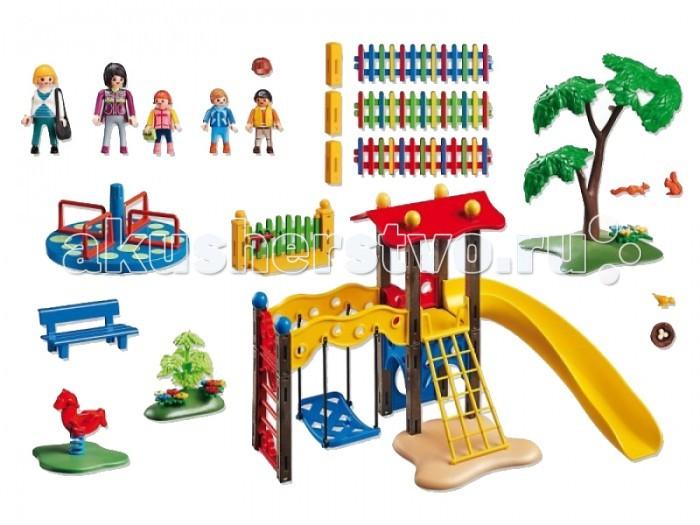 Конструктор Playmobil Детский сад: Игровая площадка