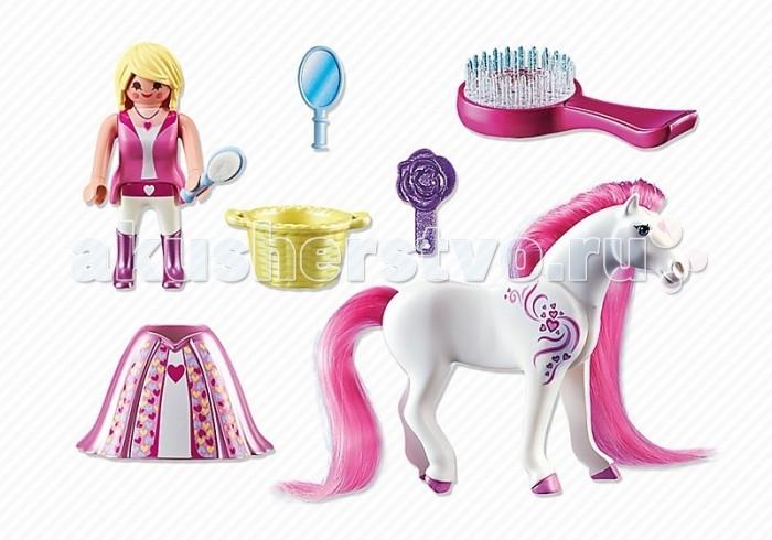 Конструкторы Playmobil Принцессы: Розали с Лошадкой playmobil принцессы принцесса виола с лошадкой