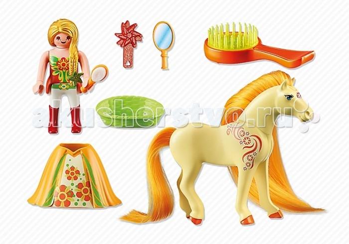 Конструкторы Playmobil Принцессы: Санни с Лошадкой playmobil принцессы луна с лошадкой