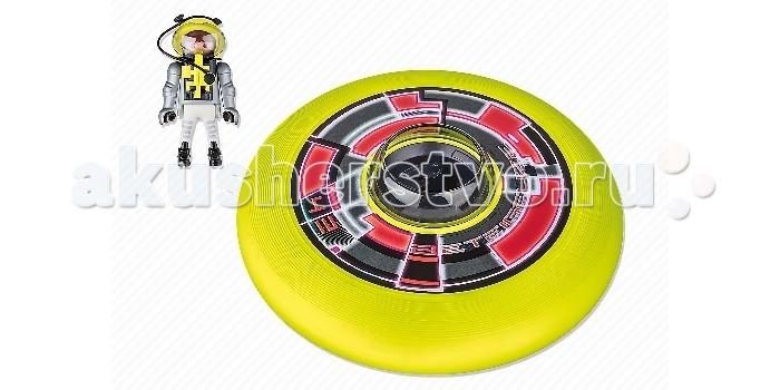 Конструкторы Playmobil Игры на улице: Супер диск с астронавтом playmobil® playmobil 5289 секретный агент мега робот с бластером