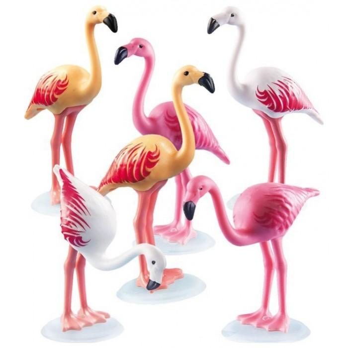 Конструкторы Playmobil Зоопарк: Стая Фламинго клен розовое фламинго в спб где можно купить