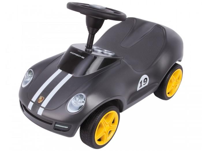 Каталка BIG Машинка PorscheМашинка PorscheКаталка BIG Машинка Porsche. Спортивная каталка Porsche, цвета серого антрацита с классическими гоночными полосками, предлагает несравненный внешний вид вплоть до малейших деталей.   Дизайн был разработан совместно с Porsche Design Studio. Здесь вы встретите реалистичные широкие 5-спицевые колесные диски Porsche и эргономичное сидение с коленным углублением для больших детей. За счет объемной прорисовки фары выглядят как настоящие.   Машинка катала Porsche – это Premium сегмент среди каталок.  Основные характеристики: каталка предназначена для детей от 1,5 лет максимальная нагрузка 50 кг колеса прорезинены.<br>