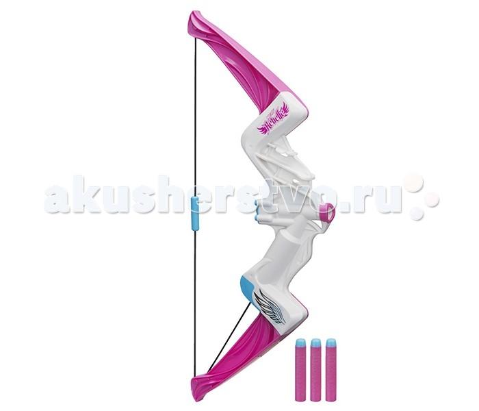 Игрушечное оружие Nerf N-Rebelle Лук игрушечный Яркое приключение  лук hasbro nerf n rebelle яркое приключение