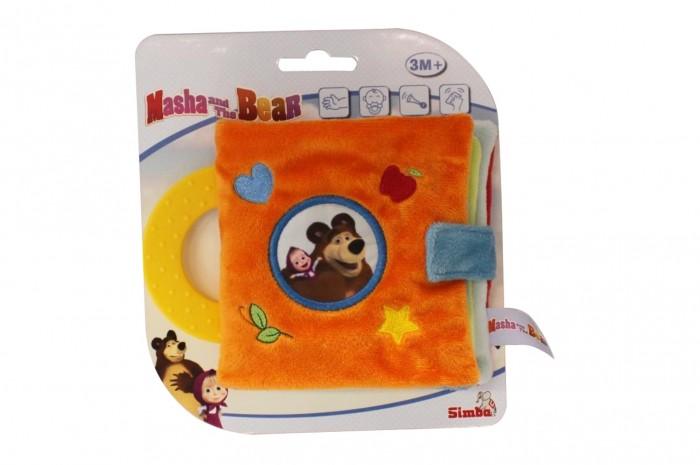 Книжки-игрушки Simba Плюшевая книжечка Маша и Медведь