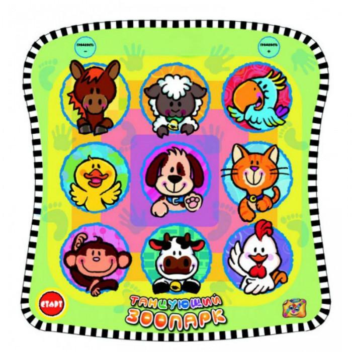 Фото - Игровые коврики Знаток Звуковой коврик Танцующий Зоопарк танцующий кот