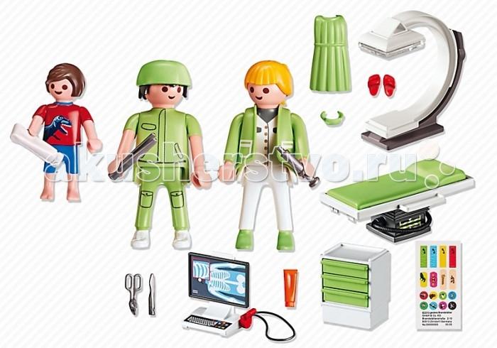 Конструкторы Playmobil Детская клиника: Рентгеновский кабинет playmobil® детская клиника рентгеновский кабинет playmobil