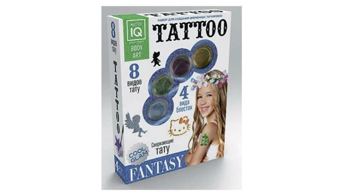 Аксессуары Каррас Игровой набор для временных татуировок Fantasy игра каррас жидкий свет x026