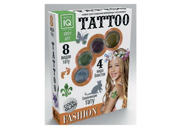 Наборы для творчества Каррас Игровой набор для временных татуировок Fashion набор для творчества master iq создание временных татуировок тату party 8 видов тату с009