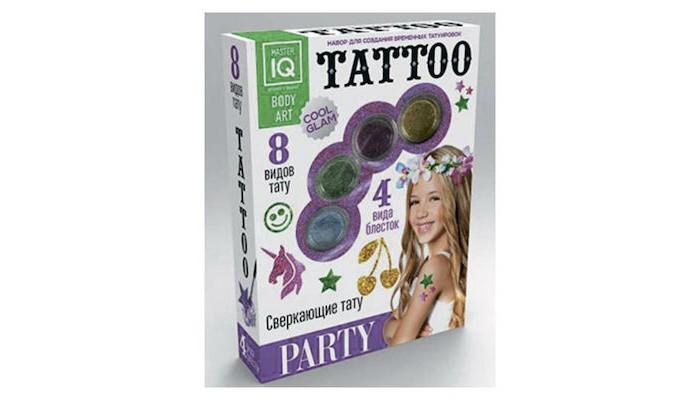 Аксессуары Каррас Игровой набор для временных татуировок Party каррас каррас набор для создания временных татуировок night сlub светящиеся