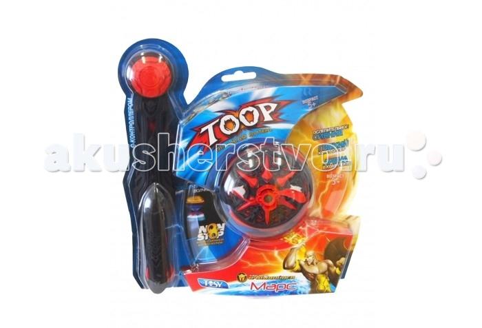 Игровые наборы Каррас Игровой набор Toop Starter Set с контроллером Марс кто первый тачки внутри игровые фигурки и волчок