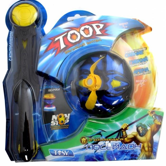 Игровые наборы Каррас Игровой набор Toop Starter Set с контроллером Посейдон кто первый тачки внутри игровые фигурки и волчок