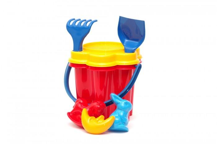 Игрушки в песочницу Karolina Toys Песочный набор Цветок игрушки для ванны tolo toys набор ведерок квадратные