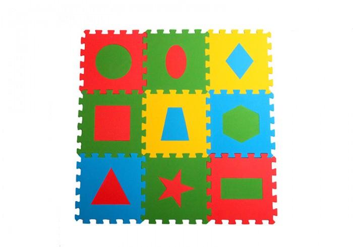Игровые коврики Экопромторг универсальный Геометрия 33х33 см 9 деталей