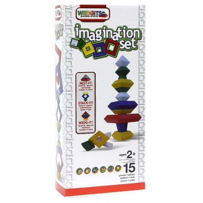 Конструкторы Wedgits Imagination Set 15 деталей