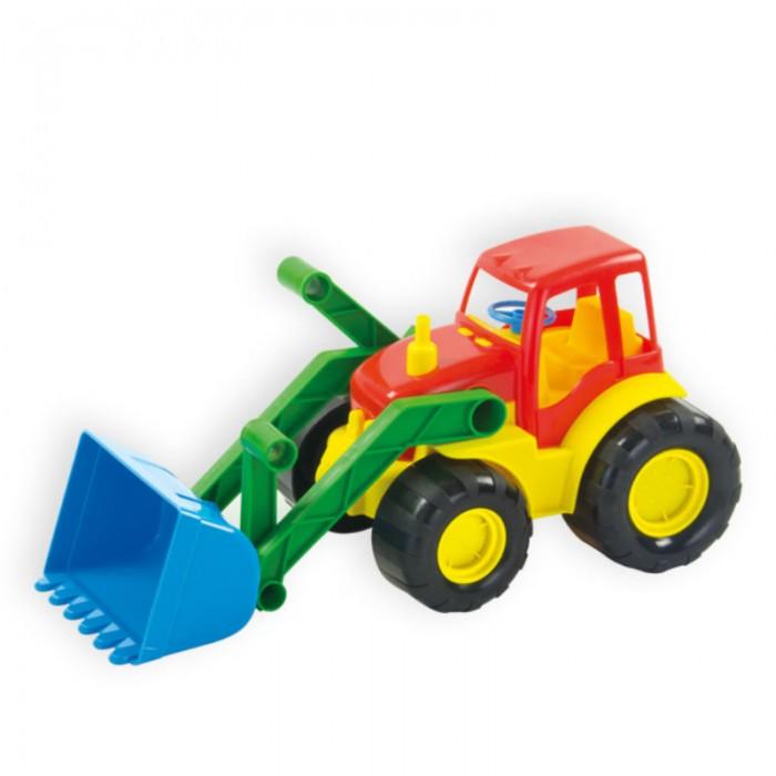 Машины ZebraToys Трактор с ковшом Active машинки нордпласт трактор ижора с ковшом