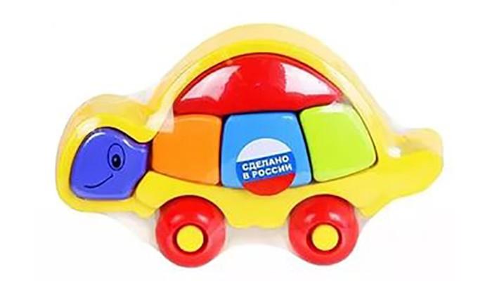 Развивающие игрушки ZebraToys Логическая черепашка черепашка нажимай и догоняй