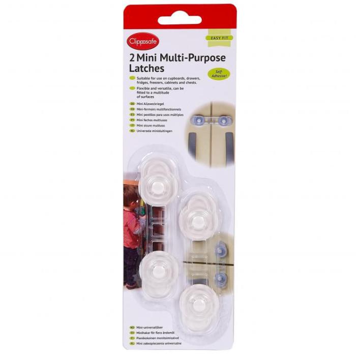 Блокирующие устройства Clippasafe Защитный замок для дверей 2 шт. блокирующие устройства roxy фиксатор дверей