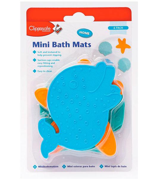 коврики в ванну Коврики для купания Clippasafe против скольжения для ванной