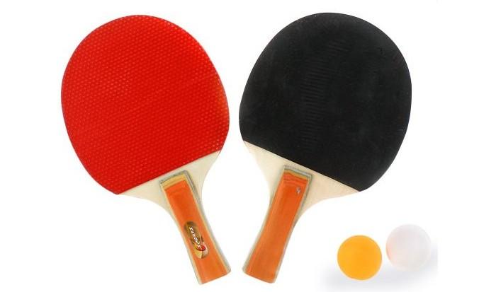 Спортивный инвентарь X-Match Набор для настольного тенниса в чехле ракетки для настольного тенниса adidas vigor 140