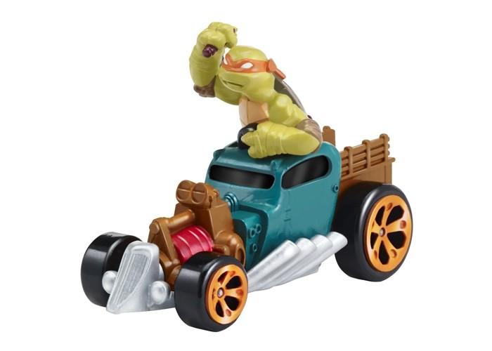 Игровые фигурки Turtles Машинка Черепашки-ниндзя 7 см Майки на Драндулете