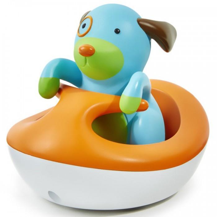 Игрушки для ванны Skip-Hop Игрушка для ванной Щенок на гидроцикле игрушки для ванны играем вместе набор для ванной котенок гав и щенок