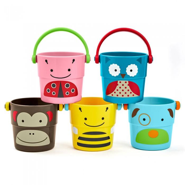 Купание малыша , Игрушки для ванны Skip-Hop Набор формочек для ванной арт: 154723 -  Игрушки для ванны