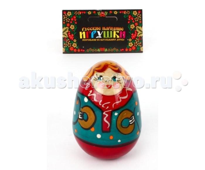 Деревянные игрушки Русская народная игрушка (РНИ) Неваляшка Мальчик