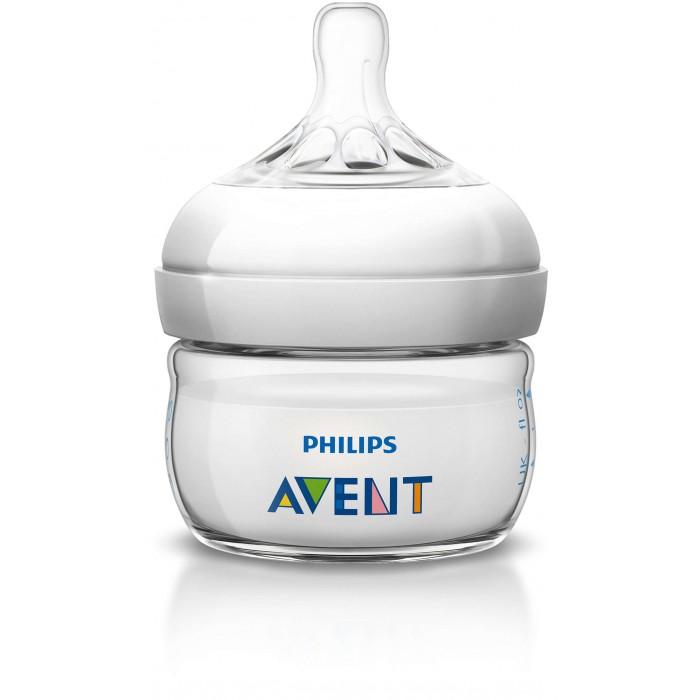 Бутылочки Philips Avent Natural 60 мл avent бутылочка avent natural для кормления с 3 мес 330 мл